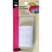 "Soft Seal Bra Extender 2-1/4""-White"