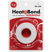 Thermoweb Heat'n Bond Ultra Hold Iron-On Adhesive-3/8'X10 Ya Wholesale Bulk