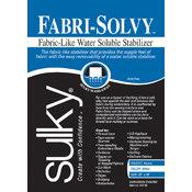 Sulky Fabri-Solvy Soluble Stabilizer-20'X36' Wholesale Bulk