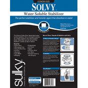 Sulky Solvy Water Soluble Stabilizer-19-1/2'X3 Yards Wholesale Bulk