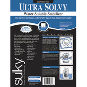 Sulky Ultra Solvy Water Soluble Stabilizer-19-1/2'X3 Yar Wholesale Bulk