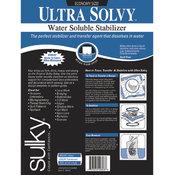 Sulky Ultra Solvy Water Soluble Stabilizer-19-1/2'X3 Yar Wholesale Bulk