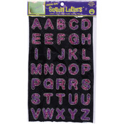 Dritz Iron-On Sequin Letters - Block 1'-Hot Pink Wholesale Bulk