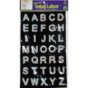 Dritz Iron-On Sequin Letters - Block 1'-Silver Wholesale Bulk