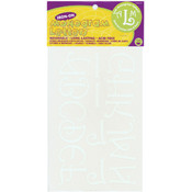 Dritz Iron-On Letters 1-3/4' Monogram-White Wholesale Bulk