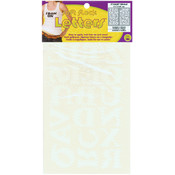 Dritz Iron-On Letters 1-1/2' Stitched-White Wholesale Bulk