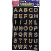Dritz Iron-On Sequin Letters - Block 1'-Gold Wholesale Bulk