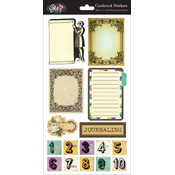 Glitz Design Dance In Sunshine Cardstock Stickers, Journaling Wholesale Bulk