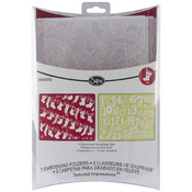 Sizzix Embossing Folder, Christmas Stockings