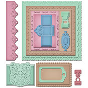 Spellbinders Grand Calibur Dies-Book Pages 2 Wholesale Bulk