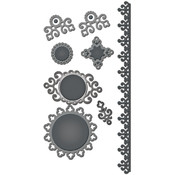 Spellbinders Shapeabilities Dies, Ironwork Accents Wholesale Bulk