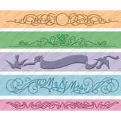 Provo Craft Cuttlebug 7-Inch Embossing Border, Wedding Wholesale Bulk