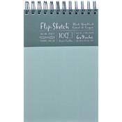 Global Art Flip-Sketch Blank Sketchbook, Mist Wholesale Bulk