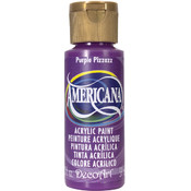 Americana Acrylic Paint, Purple Pizzazz