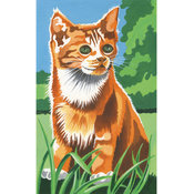Reeves Mini Paint By Number Kit-Kitten In The Field Wholesale Bulk