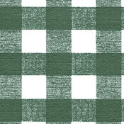 Nordic Shield 54' Wide Flannel Backed Vinyl- Green Chess Check Wholesale Bulk