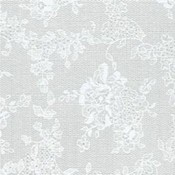 Nordic Shield Deluxe Flannel Backed Vinyl 54'- White Lace Wholesale Bulk
