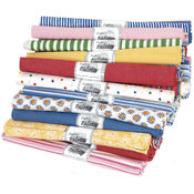 Fabric Editions, LLC Fat Quarter Print & Novelty Fabric Pallette Assortment Wholesale Bulk