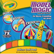 Crayola Model Magic 7 Ounces-Assorted Colors