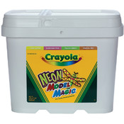 Crayola Model Magic 2 Pound Tub-Neon