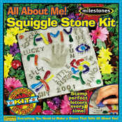 All About Me Squiggle Stone Kit- Wholesale Bulk