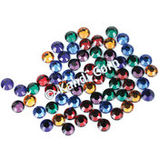 HotFix Swarovski Crystals 4mm-Dark Mix 24/Pkg