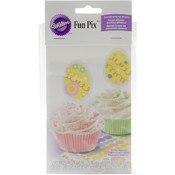 Decorate Your Own Fun Pix 12/Pkg-Easter Egg