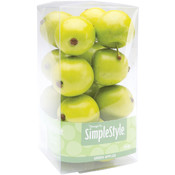 Floracraft Design It Simple Decorative Fruit-Mini Green Apple Wholesale Bulk