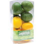 Floracraft Design It Simple Decorative Fruit-Mini Lemon/Lime Wholesale Bulk
