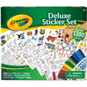 Crayola Deluxe Sticker Set Wholesale Bulk