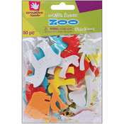 Foam Stickers 50/Pkg-Zoo Wholesale Bulk