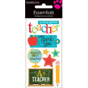 Trends International Essentials Dimensional Sticker, Gifted Teacher Wholesale Bulk