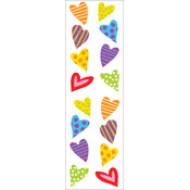 Mrs. Grossman's Stickers-Chubby Hearts