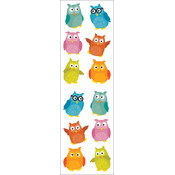 Mrs. Grossman's Stickers-Chubby Owls
