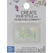 Jolees Swarovski Elements Bicone-4mm Meadow Mix Wholesale Bulk