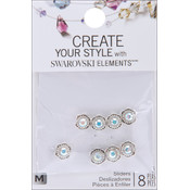 Jolees Swarovski Elements Sliders-Flower/Crystal Wholesale Bulk