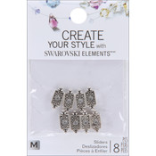 Jolees Swarovski Elements Sliders-Rectangle/Crystal Wholesale Bulk