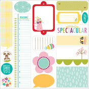 Spring Flings/Easter Things Stickers-Just Write