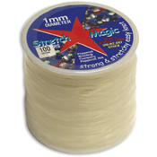 Pepperell Stretch Magic 1mm Clear Bead & Jewelry Cord Wholesale Bulk