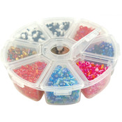 4-Inch Bead Storage Organizer Box,8-Pack