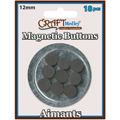 American Classics Corp Magnetic 12mm Buttons On Mirror, 18-Pack Wholesale Bulk