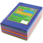 Fashion Assortment Foam Sheets, 30-Pack