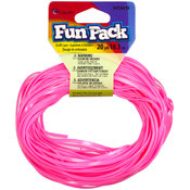Cousin Fun Pack Plastic Craft Lace-Pink Wholesale Bulk