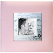 MBI Fabric Expressions Photo Album-Baby - Pink Wholesale Bulk