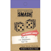 K&Company Top 10 SMASH Pad-30 Sheets Wholesale Bulk