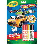 Crayola Coloring & Activity Pad, Hot Wheels Wholesale Bulk