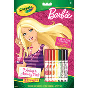 Crayola Coloring & Activity Pad, Barbie Wholesale Bulk