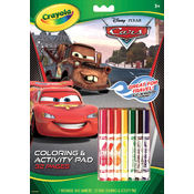 Crayola Coloring & Activity Pad, CARS 2 Wholesale Bulk