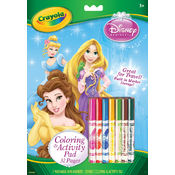 Crayola Coloring & Activity Pad, Disney Princesses Wholesale Bulk