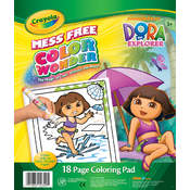 Crayola Color Wonder Coloring Pad, Dora The Explorer Wholesale Bulk